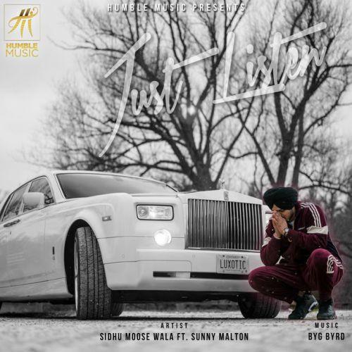 Just Listen Sidhu Moose Wala, Sunny Malton Mp3 Song Download