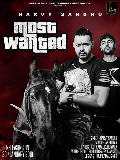 Most Wanted Harvy Sandhu Mp3 Song Download