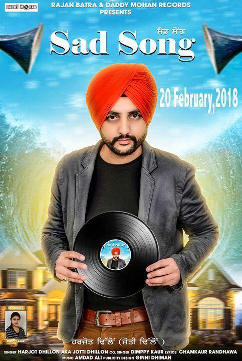 Sad Song Harjot Dhillon Mp3 Song Download