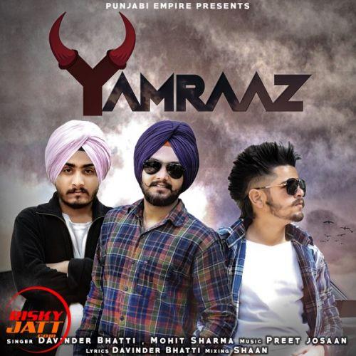 Yamraj Mohit Sharma, Davinder Bhatti Mp3 Song Download