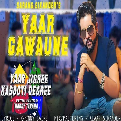 Yaar Gawaune Sarang Sikander Mp3 Song Download