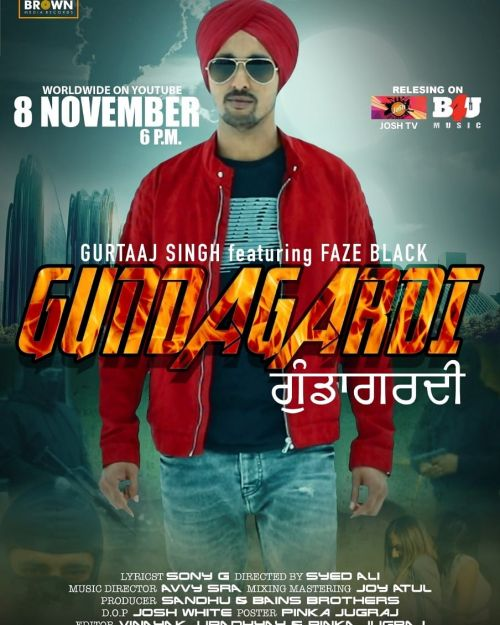Gundagardi Gurtaaj Singh, Faze Black Mp3 Song Download