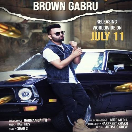Brown Gabru Harman Batth Mp3 Song Download