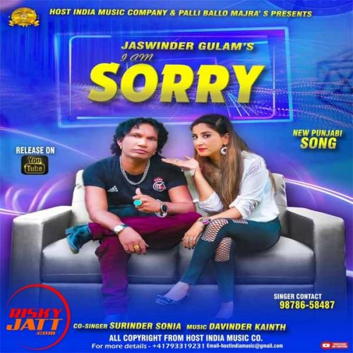 I am Sorry Jaswiner Gulam, Surinder Sonia Mp3 Song Download