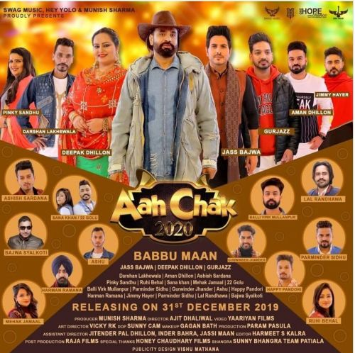 Endlesss Yaariyan Ashish Sardana mp3 song download, Aah Chak 2020 Ashish Sardana full album mp3 song
