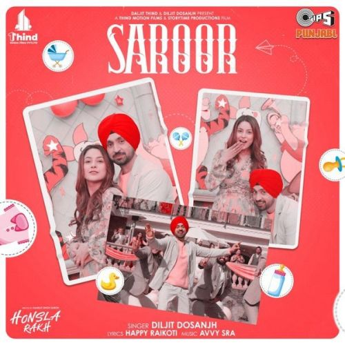 Saroor (From Honsla Rakh) Diljit Dosanjh mp3 song download, Saroor (From Honsla Rakh) Diljit Dosanjh full album mp3 song